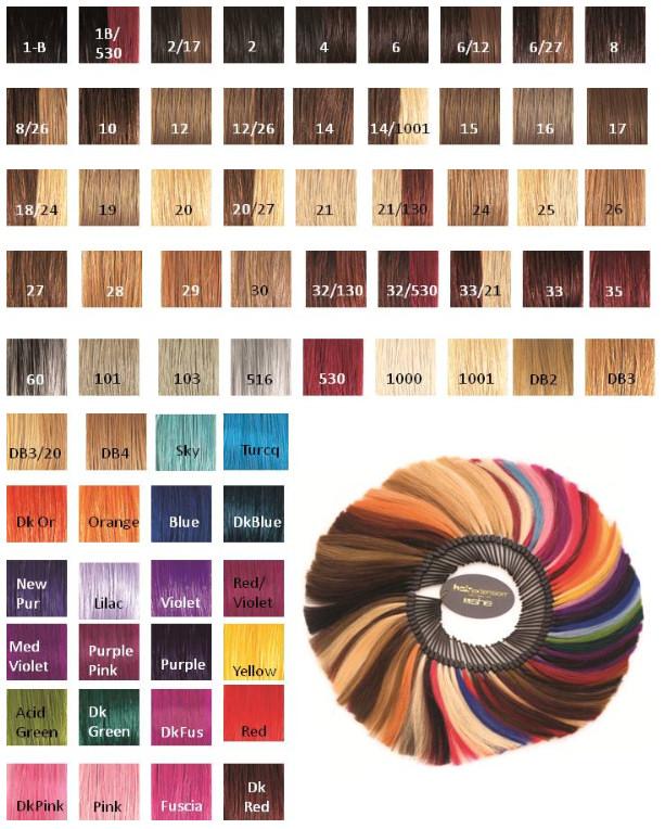 Socap extensions colors